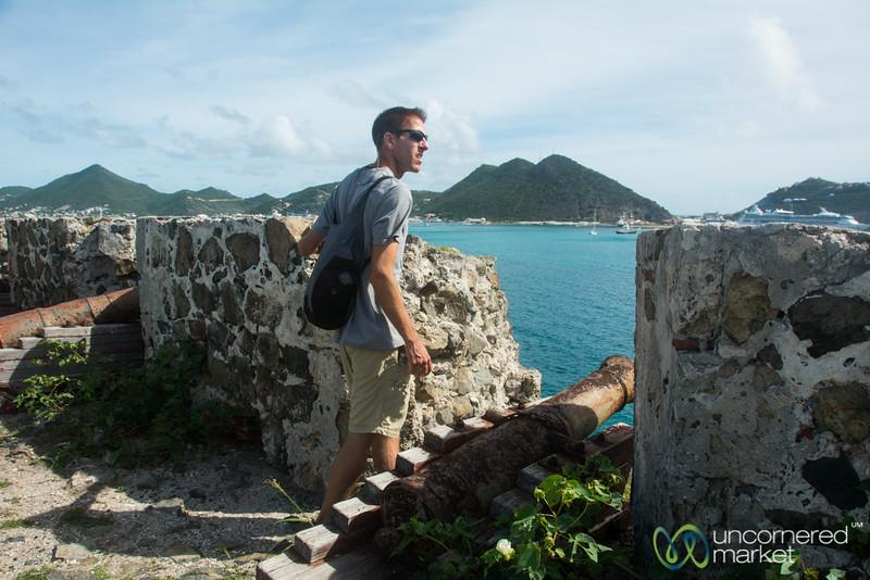 Dan at Fort Amsterdam - St. Maarten
