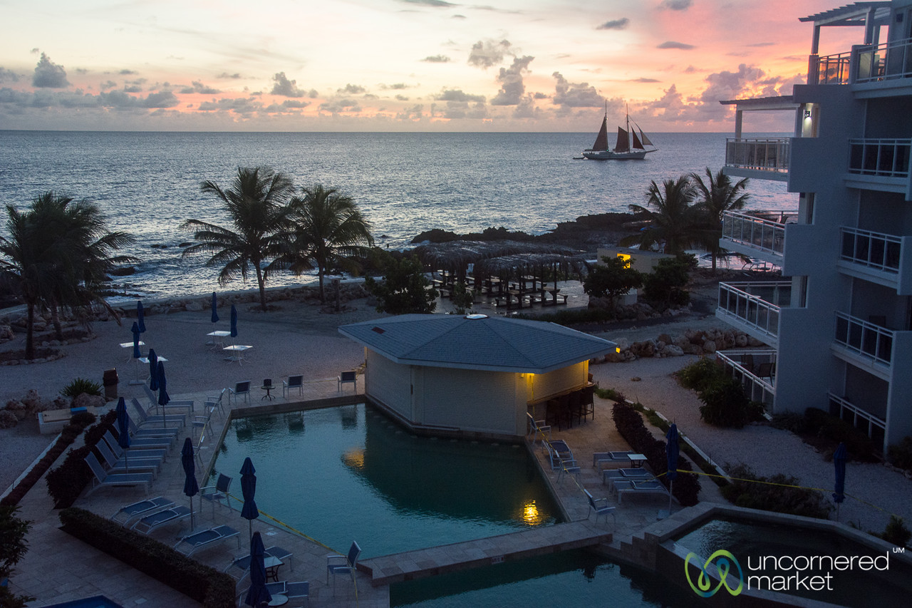 Sunset at Alegria Hotel - Maho Bay, St. Maarten