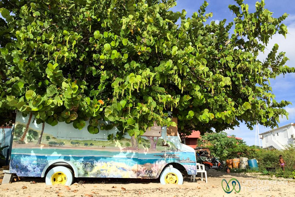 Van Art at Simpson Bay Beach - St. Maarten