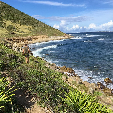Trekking the Northern Coast of St. Martin