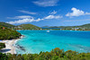 The Wyndam Sugar Bay Beach in St. Thomas, US Virgin Islands, Caribbean, West Indies.