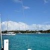 Off to our next anchorage in the Tobago Cays