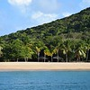 Beautiful beach on Mayreau