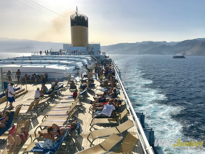 transatlantic cruises with kids