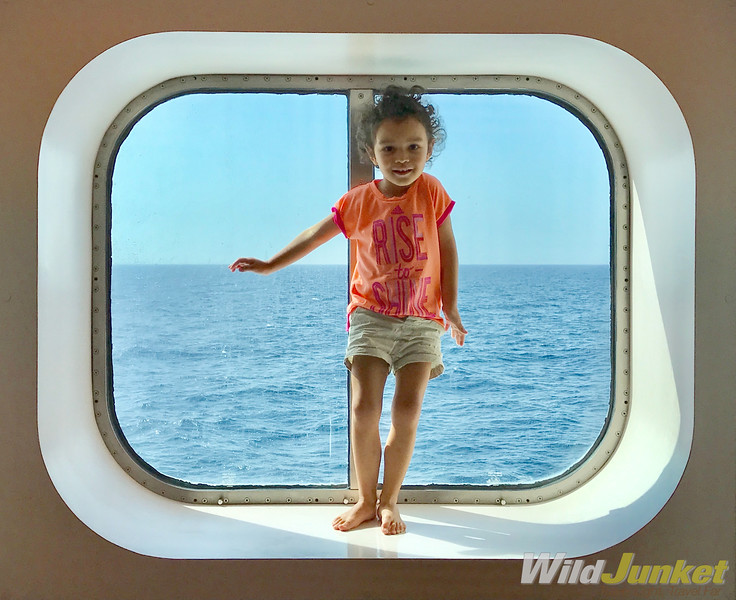 transatlantic cruise with kids
