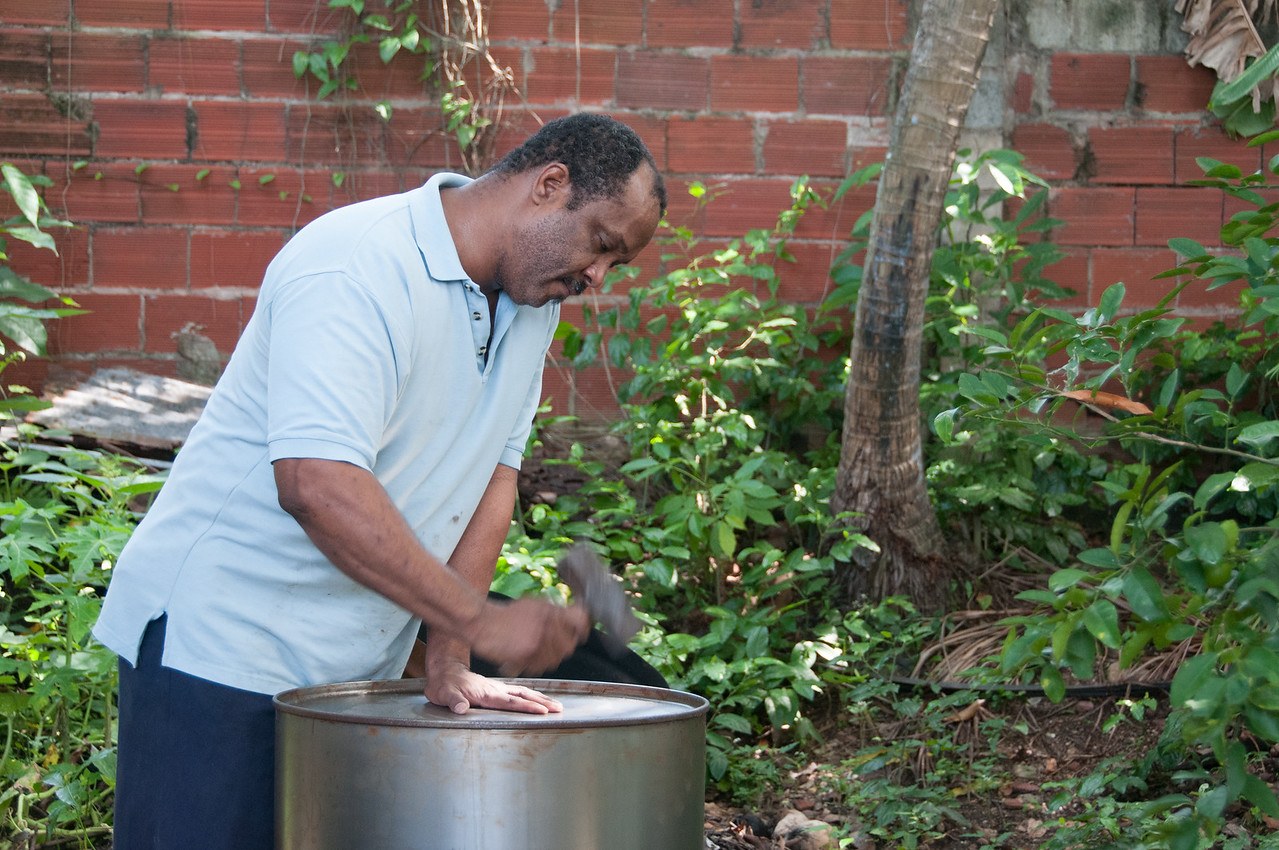 Making the Steel Pan - National instrument of Trinidad and Tobago