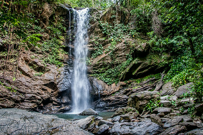 Avocat Waterfall in Trinidad, Trinidad and Tobago