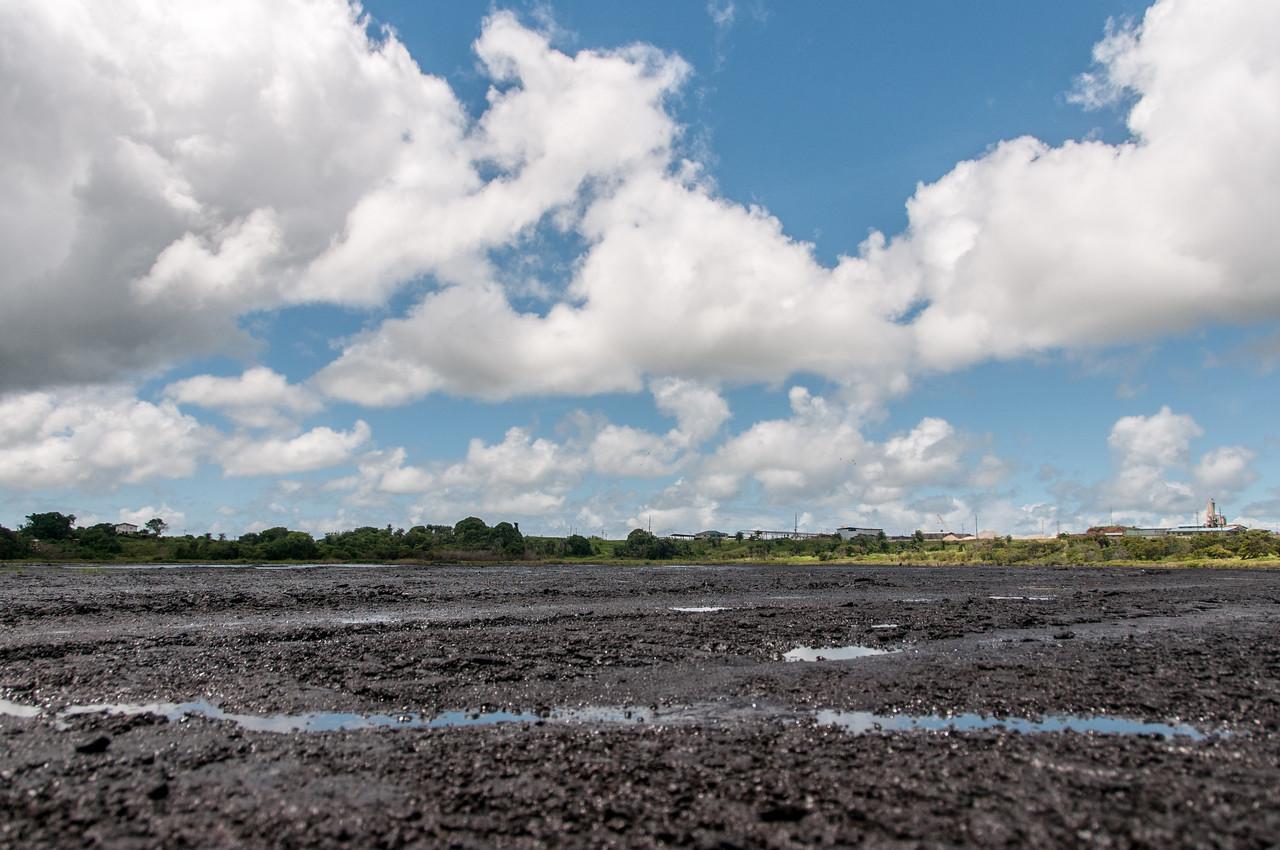 Pitch Lake in La Brea, Trinidad