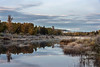 Fall colours in the wetlands, Cariboo-Chilcotin above Likely, British Columbia