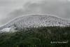 Snow line, Mitchell River, Cariboo-Chilcotin country, British Columbia