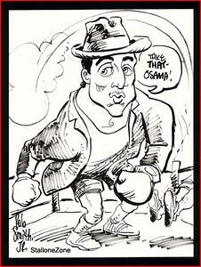 Sylvester Stallone as 'Rocky'