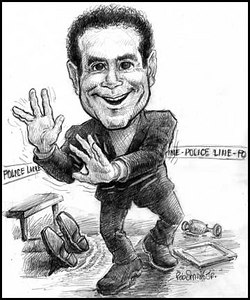 Tony Shalhoub as 'Monk""