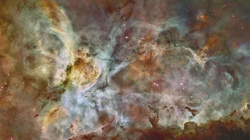 Carina Nebula Dreamscape Video Loop