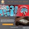 2014 Adobe Muse website for Matthew's art and T-shirt designs.