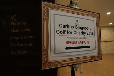 Caritas Singapore Golf for Charity 2018