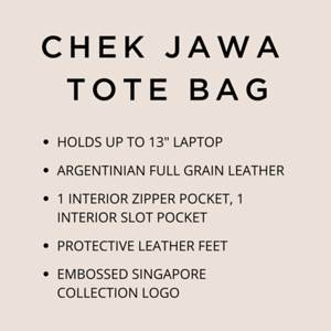 CHEK JAWA TOTE BAG (Instagram Post)