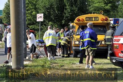 07/01/09 - Glen Cove Road - MCI Bus Accident