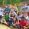 Brayden and his class at field day