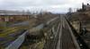London Road goods depot, Carlisle, Thurs 23 February 2012 2.  Looking east towards Petteril Bridge Junction, where the Settle and Hexham lines diverge.