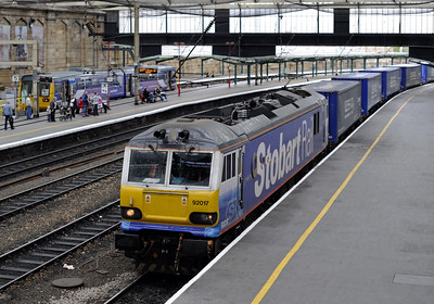 Carlisle trains, April 2010