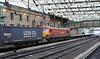 92016, 4S43, Carlisle, Wed 21 December 2011 - 1134.  DB Schenker's 0615 Daventry - Mossend Tesco Express, running one hour late.