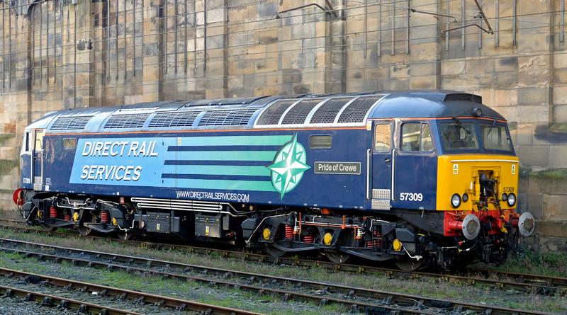 57309 Pride of Crewe, Carlisle, Tues 30 December 2014 - 1216.