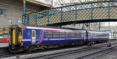 Carlisle trains, February 2014