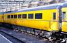 New Measurement Train overhead line equipment test coach ADB 977993, Carlisle, Mon 18 January 2010