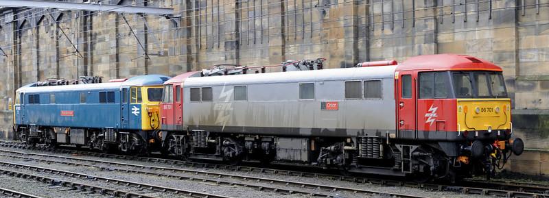 87002 Royal Sovereign & 86701 Orion, Carlisle, Thurs 13 Jan 2011 1