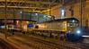 66569, 4S83, Carlisle, Fri 15 January 2016 - 0314.  The lightly loaded 1735 London Gateway - Dumfries - Coatbridge Freightliner passes 350402, 22 early.