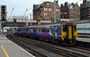 156481, 2N08, Carlisle Citadel, Wed 6 July 2016 - 0654.  The ScotRail / Northern 0618 Dumfries - Newcastle.