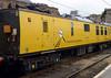 Mentor overhead line inspection coach 975091, 1Q74 test train, Carlisle Citadel. Wed 6 July 2016 2.