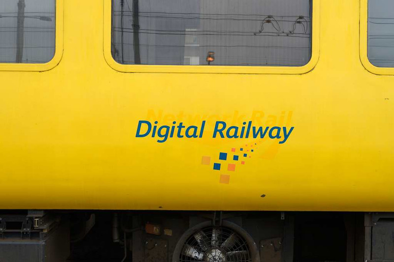 Plain line pattern recognition (PLPR) track inspection coach 72631, 1Q74 test train, Carlisle Citadel. Wed 6 July 2016 2.