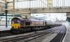 66100, Carlisle, Fri 29 June 2012 - 0640.  One of the Carlisle yard - Dalston trip workings with six loaded TEA tankers.