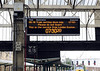 The 1S26 Euston - Glasgow / Edinburgh sleeper is delayed, Carlisle, Fri 29 June 2012 - 0730.