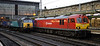 92031 (4Z48) & 57315, Carlisle, Fri 29 June 2012 - 0549.  DB Schenker's Thurs 4M48 1853 Mossend - Daventry Tesco Express, due Carlisle 2040.