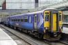 156500, Carlisle, Fri 29 June 2012 - 1246.  First ScotRail's 1312 to Glasgow via Dumfries awaits departure.