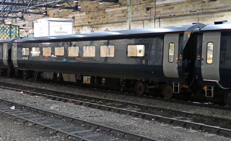 90048, 5C01, Carlisle, Wed 2 May 2018 7.  Unidentified Mark 5 coach.