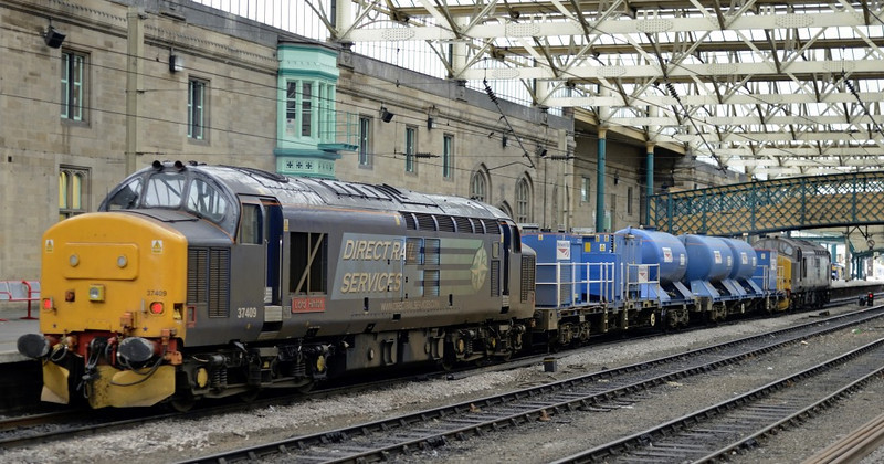 37688 & 37419, 3S77, Carlisle, Mon 7 October 2013 2.  The two FEAs were 642004 & 642006.