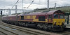 66004, 4S70, Carlisle, Mon 7 October 2013 - 1339.  DB Schenker's 1027 Milford - Hunterston coal empties.