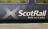 Gaelic 156xxx, Carlisle, Mon 7 October 2013.  First ScotRail's 1115 Carlisle - Dumfries - Glasgow.