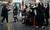 Nuns(?) on the run!  Carlisle, Sat 15 September 2012