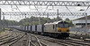 92026 Britten, 4S43, Carlisle, Fri 14 September 2012 - 1133.  DB Schenker's 0617 Daventry - Mossend Tesco Express approaches platform 3.