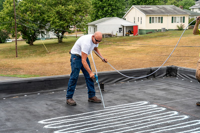 Smithfield install day 2-21