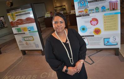 Porcia Craig Block, Porcia Craig Block, Senior Vice President, General Auditor at Federal Reserve Bank of Kansas City. Photo by Carlos Moreno