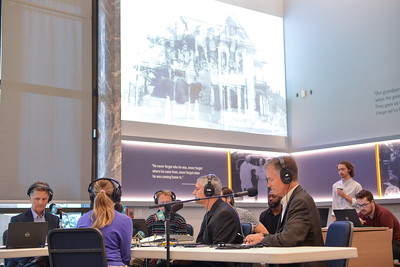 Up to Date broadcasting live at the Harry S. Truman Presidential Library and Museum on June 30, 2021.