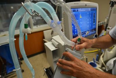 Ventilator at Truman Medical Center.