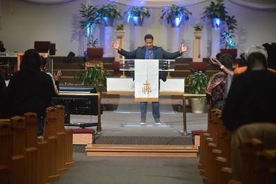 St. James United Methodist Church service, April 25, 2021.