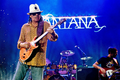 Carlos Santana performed live at the Taj Mahal on July 24, 2010 in Atlantic City, New Jersey