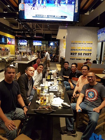 Batch 94 christmas party 2017 with visiting kabatches